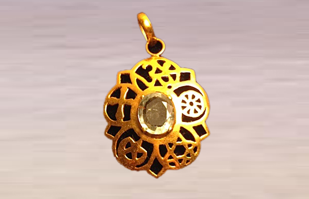 Pendants Gold White